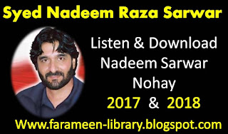 Download nadeem sarwar mp3 nohay