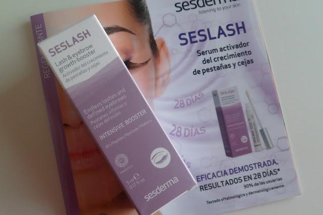 Seslash, Serum Activador del Crecimiento de Pestañas y Cejas: Mi experiencia