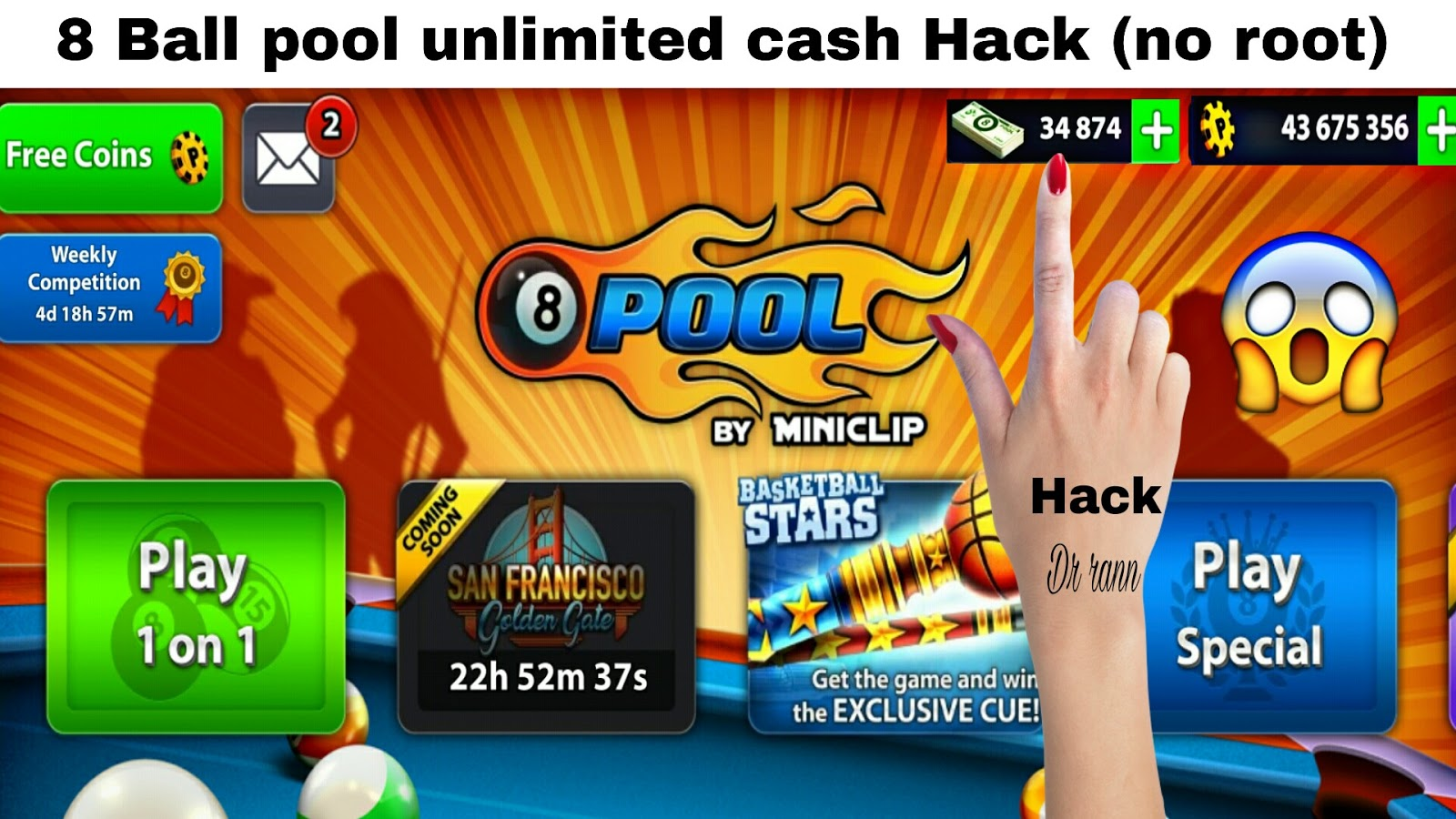 8 ball pool hack unlimited coins and cash guide