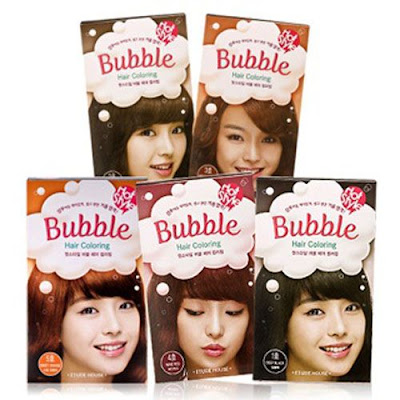 Review - Bubble Hair Coloring - ETUDE House