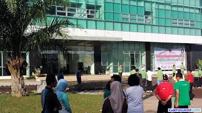"Hijaukan RSND, Undip Canangkan ""RS. Nasional Diponegoro Goes Green"""