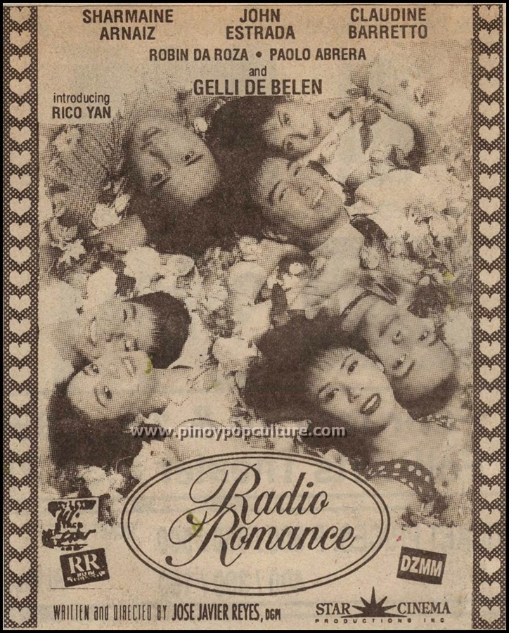Rico Yan, Radio Romance, Claudine Barretto, Star Cinema