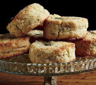 Sugared Lemon-Rosemary Scones from Food & Wine