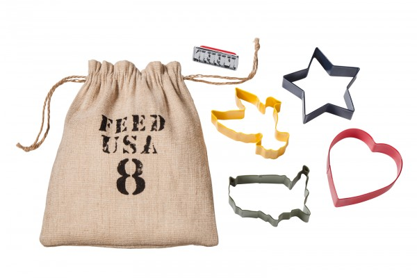 FEED USA + Target Cookie cutter set