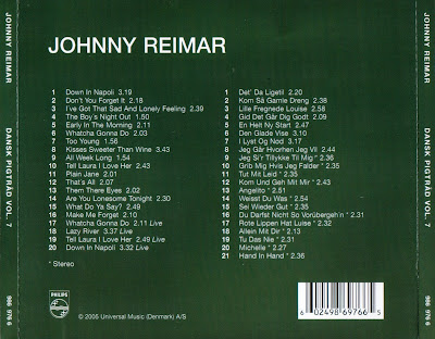 Johnny Reimar - The Complete 1963 - 1965