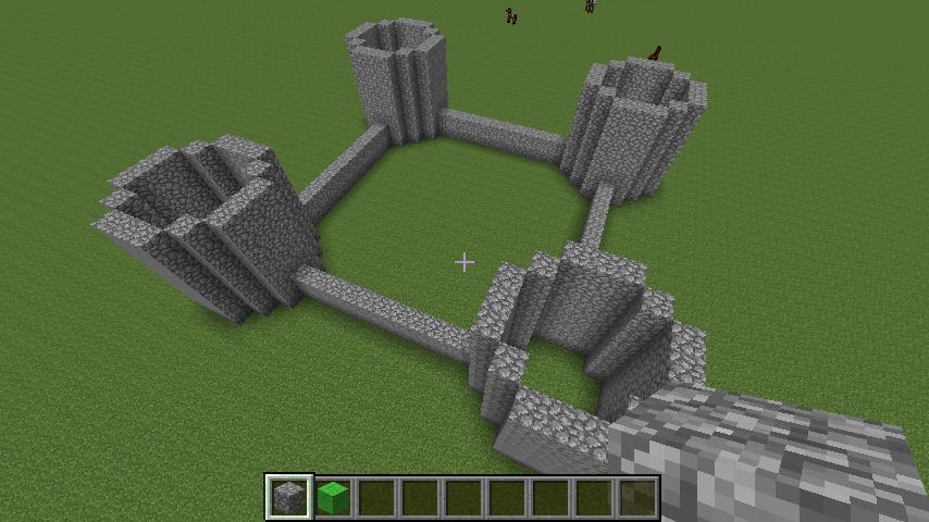Iets Nieuws Parkkyra - Minecraft: Stap voor stap maken l Minecraft kasteel &IG44