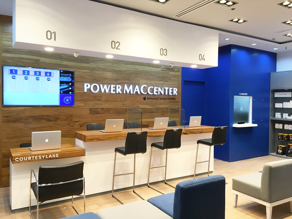 Power Mac Center Brand New Service Center in Abreeza Mall