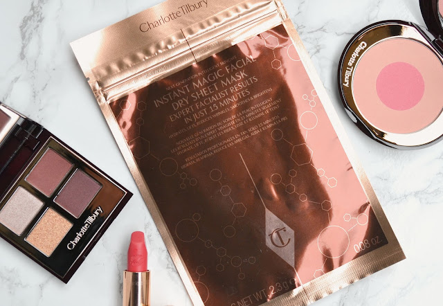 Charlotte Tilbury Instant Magical Facial Dry Sheet Mask Review
