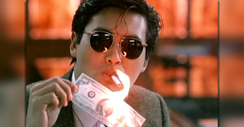 Chow Yun Fat spends dollars