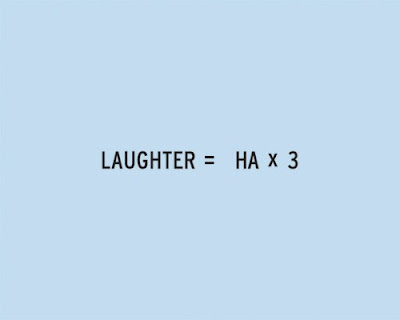 THE NEW MATH OF RELATIONSHIPS: LAUGHTER, BY CRAIG DAMRAUER