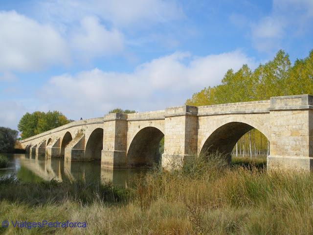Castilla y León, Burgos, Palencia, río Pisuerga, Camino de Santiago