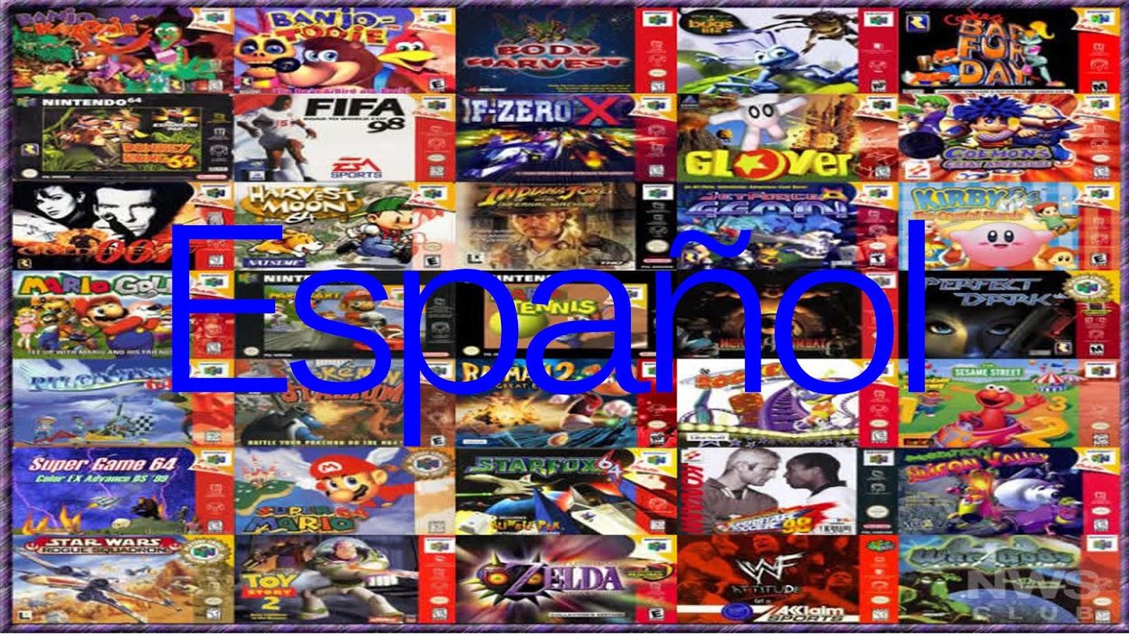 n64romsespaC3B1ol - Imprescindible Pack en Español 1.0 [Nintendo 64] [25 roms] [UL] [PC]