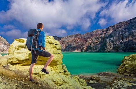 Tempat wisata kawah ijen di banyuwangi