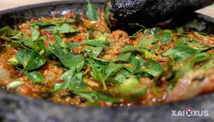 Resep cara membuat sambal terasi - sambal terasi kemangi
