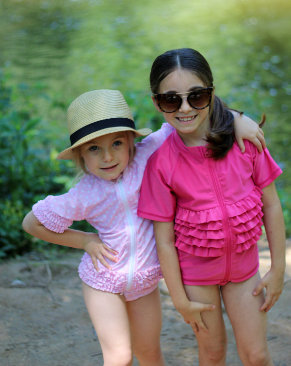 swimzip, sun protective swimwear, mom blogger, style on a budget, summer style