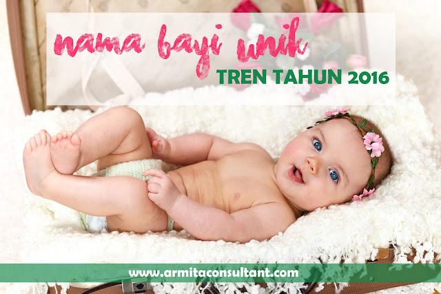 Contoh nama bayi unik