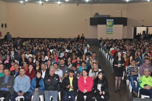Mais de 650 pessoas participam do 18º Encontro  de Empresários e Lojistas promovido pela ACIAR
