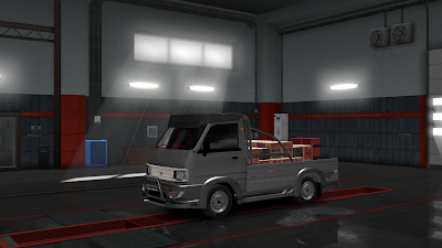 Mod Angkot Suzuki Carry By Rindray Ets2