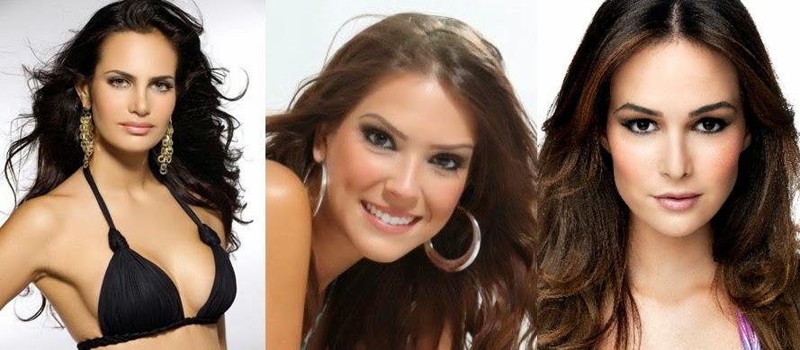 Misses Universo Brasil 2009, 2010 e 2011