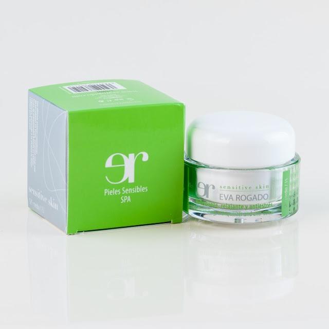 Crema hidratante para piel sensible