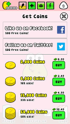 cheat pou di android terbaru