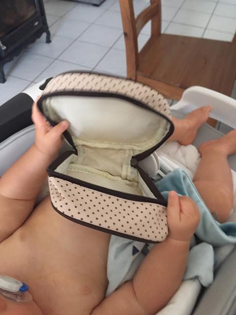 test cadeau unique bébé maman blog sac à langer