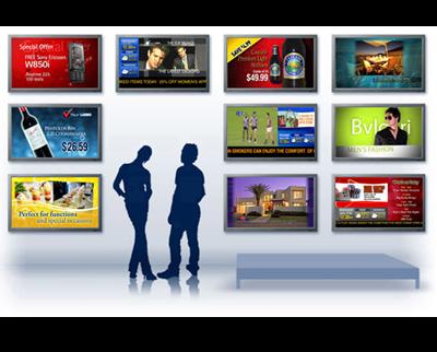 dialogar con el cliente con pantallas digitales