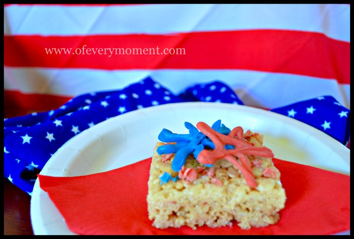 Make any treat more patriotic or special with this easy touch