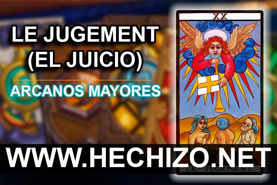 Le Jugement (El Juicio) - Tarot XX - Arcanos Mayores