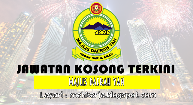 Jawatan Kosong Terkini 2016 di Majlis Daerah Yan