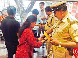 VODAFONE CELEBRATES RAKSHA BANDHAN WITH BENGALURU CITY POLICE