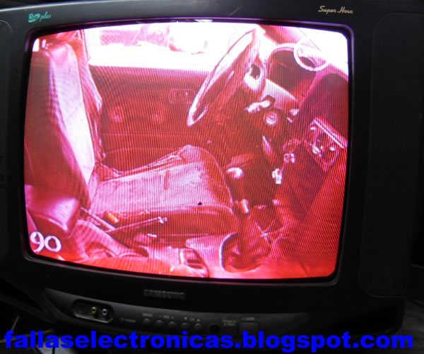 Reparar Tv Con Un Solo Color Pantalla Color Rojo