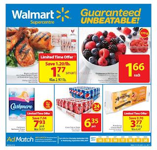Walmart Weekly Flyer valid September 14 - 20, 2017