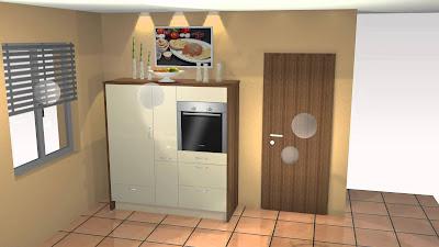 Küche Magnolia Hochglanz