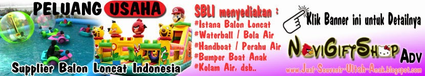 Iklan Supplier Balon Loncat Indonesia di NoviGiftShop