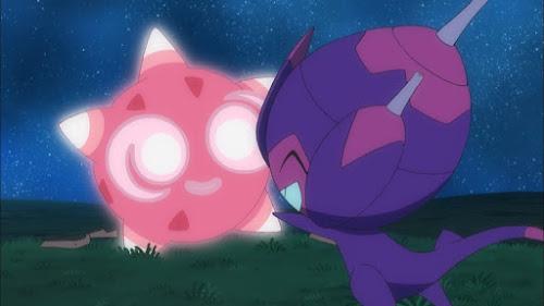 Pokemon Sol y Luna Capitulo 79 Temporada 20 Minior y Poipole, la promesa que desapareció en el cielo estrellado