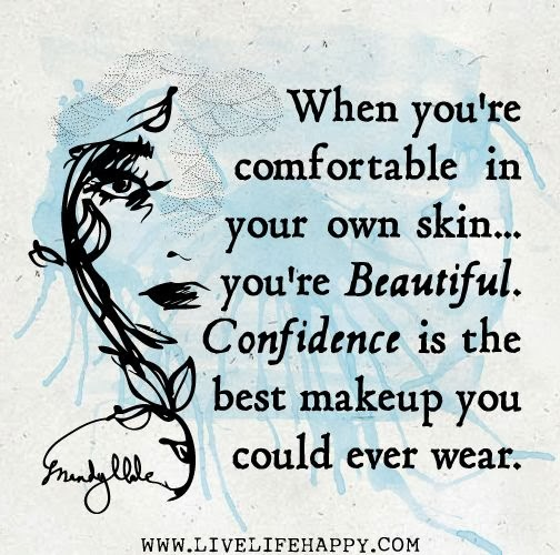 Confident and Happy