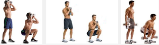 Program Latihan Fitnes squat