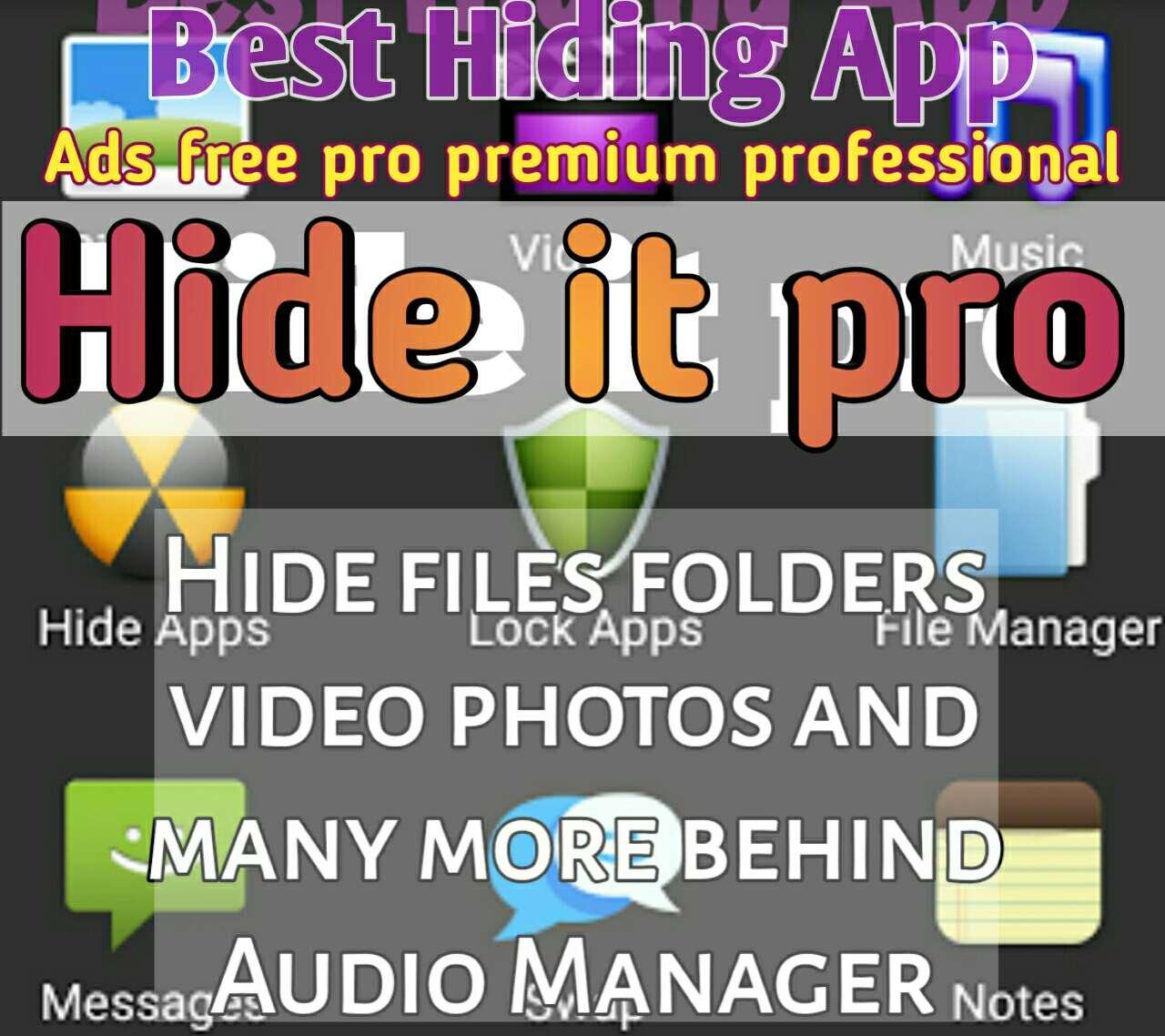 Hide App Premium Apk