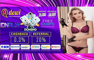 Bonus Free Chips Judi Domino Online Server IDN Play QDewi.net