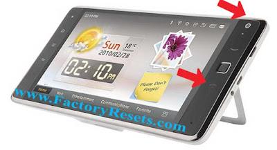 master Reset Huawei IDEOS S7