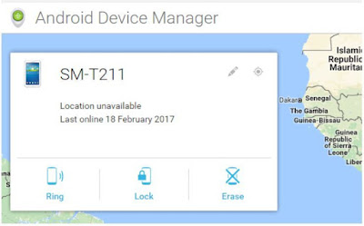 Unlock with Android Device Manager (ADM)