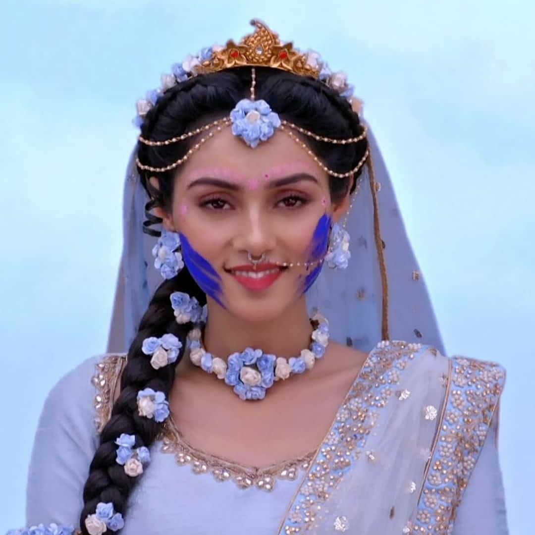 IND 彡Radha Krishna Quote彡 - कर्म का फल इंसान को ठीक उसी प्रकार