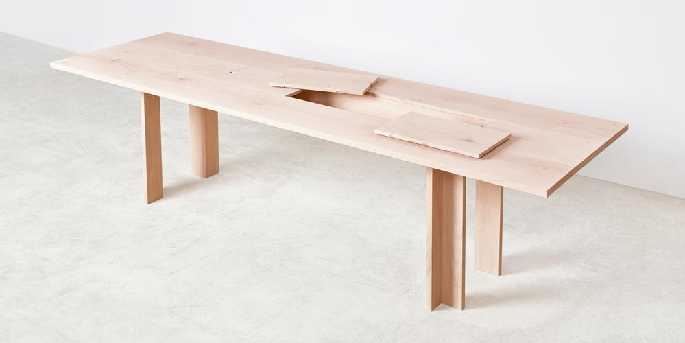 Idealny stół jadalniany dla rodziny z możliwością przechowywania.