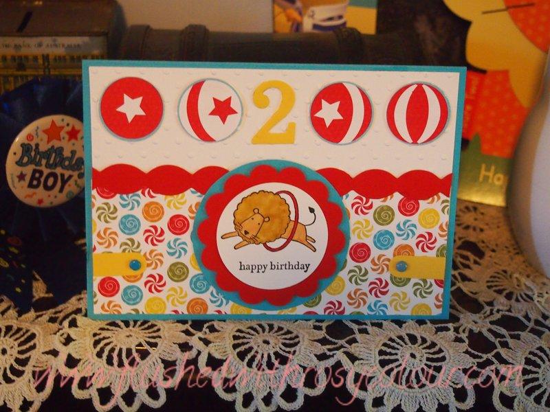 Birthday Card For A 2 Year Old Boy