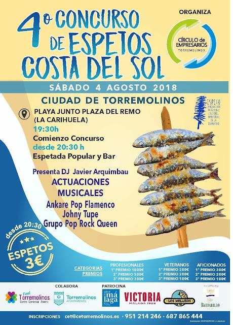 Concurso de Espetos Costa del Sol en Torremolinos