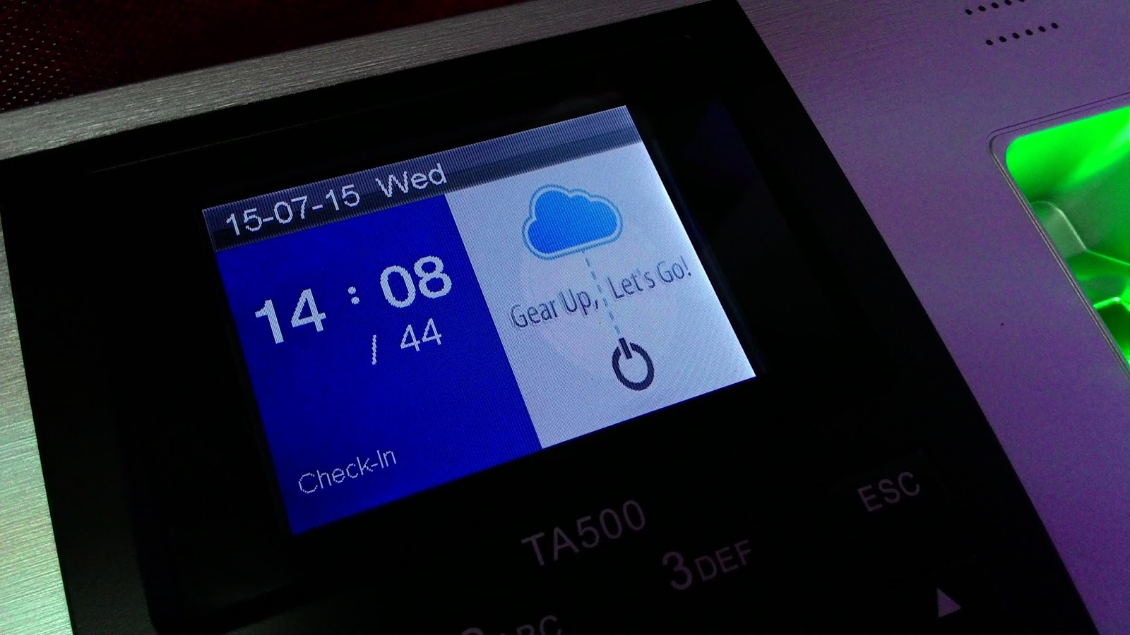How to Change Background Image in TA500 | FingerTec