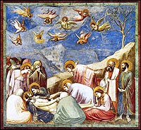 Giotto: Lamentation of Christ