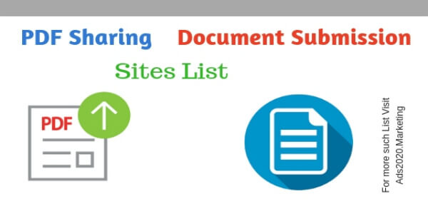 PDF Sharing and Document Submission Sites list for SEO_600x300
