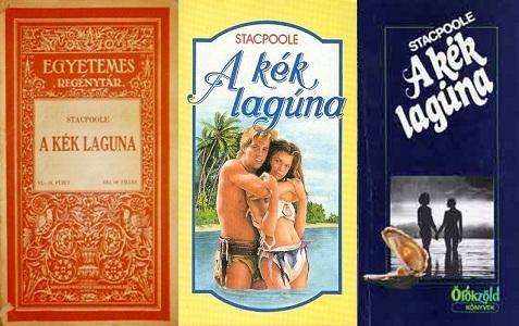 H. de Vere Stacpoole A kék lagúna könyv bemutatás